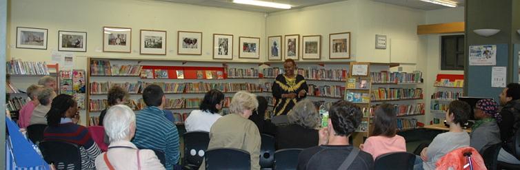A talk at Archway Library image