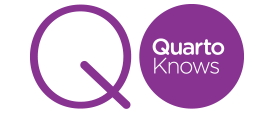 Quarto logo - image and web link