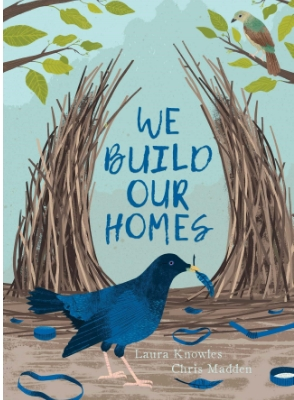 We buld our homes - book cover and weblink