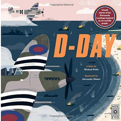 D-Day . book cover, image