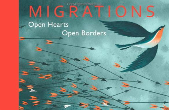 Migrations - cover image and text link
